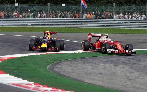 GP de Belgique: rififi entre Max Verstappen et les pilotes Ferrari après une course mouvementée -                  «Ils ont bousillé ma course dès le premier virage», pestait le jeune prodige Néerlandais de la Formule 1 Max Verstappen (Red Bull), 18 ans, dimanche à l'arrivée du Grand Prix de Belgique à Spa-Francorchamps, où sa 11e place ne lui rapportait aucun point, alors qu'il s'était &e
