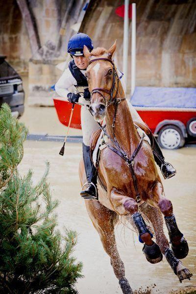 Pippa Funnell (GBR) Burghley Horse Trials 2013 StyleMyRide.net @Style My Ride, Equestrian #stylemyride #fashion