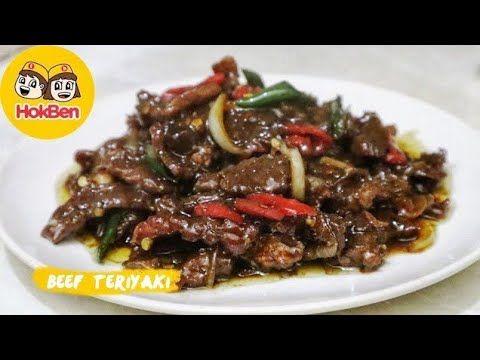Resep Beef Teriyaki Ala Hokben Masakan Daging Sapi Terenak Youtube Di 2021 Resep Daging Sapi Resep Masakan Masakan
