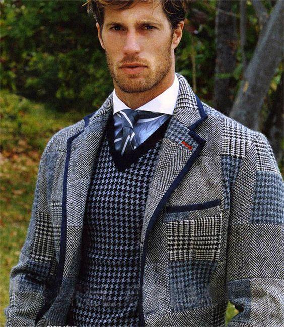 That Jacket Gives Me Scottish Gentleman