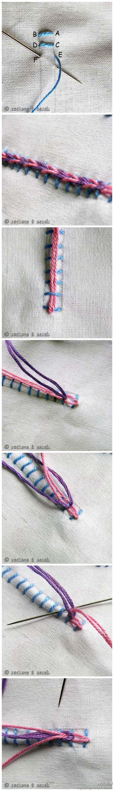 stitch: