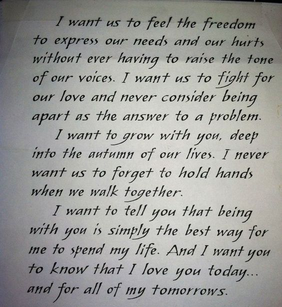 Image result for deep quotes loving him Inspirational Quotes - love letter to husband