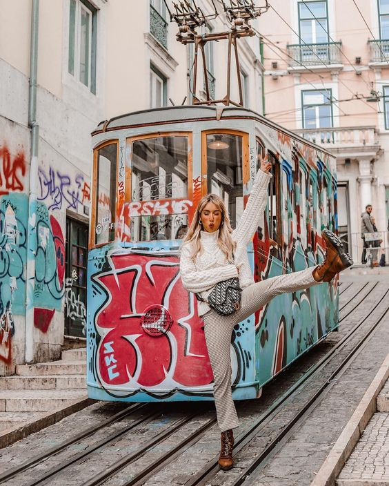 Lisbon, Portugal with Mariana Gemelgo, #lisboa #lisbontram and #explore