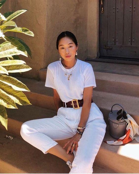 "Tendência ""All white"": look todo branco – 2019 | Inspire 4 What?"