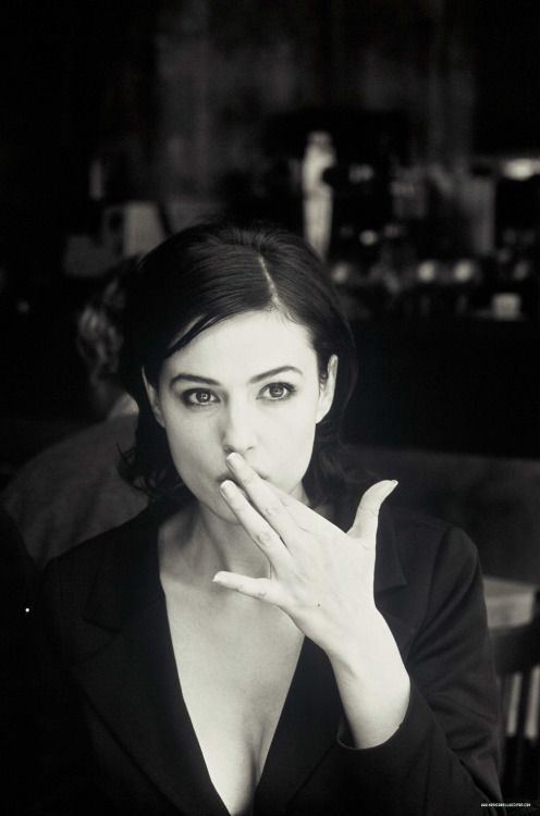 "nearlyvintage: ""MONICA BELLUCCI """