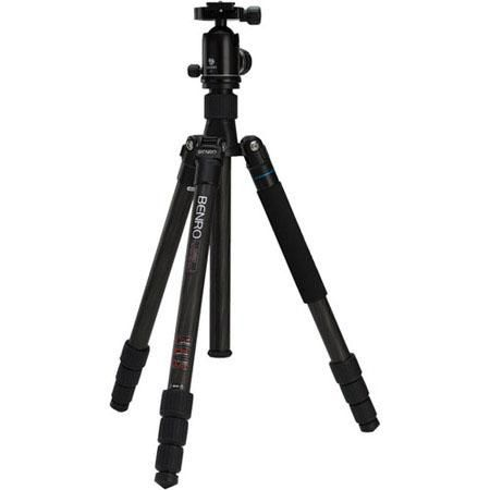 Benro C2682TV2 Travel Angel II Triple Transfunctional Carbon Fiber Tripod Kit with V2 Ball Head