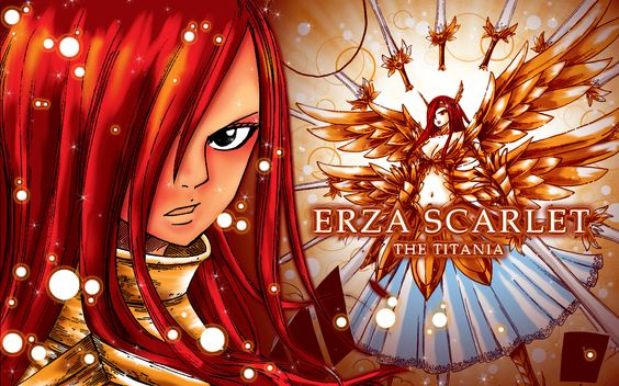 Erza from Fairytail!!! My fave female anime character