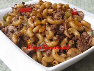 Macaroni chinois | Bedon Gourmand