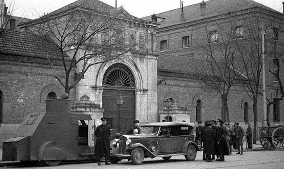 La Cárcel Modelo de Madrid durante la Guerra Civil.