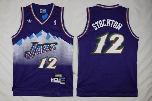 7d9160d7be9 ... Utah Jazz 12 John Stockton white throwback jerseys Basketball Pinterest John  stockton