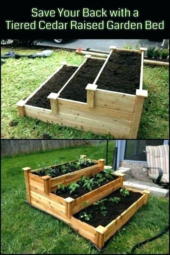 5 Easy Diy Raised Garden Bed Ideas And Plans Diy Raised Garden