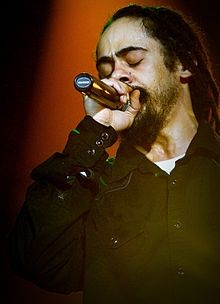 "Damian Robert Nesta ""Jr. Gong"" Marley (born 21 July 1978), is a Jamaican reggae artist. Damian is the youngest son of reggae legend Bob Marley.[1] Damian was only 2 years old when his father died; he is the only child born to Marley and Cindy Breakspeare, Miss World 1976. Damian's nickname Junior Gong is derived from his father's nickname of Tuff Gong. Damian has been performing since the age of 13."