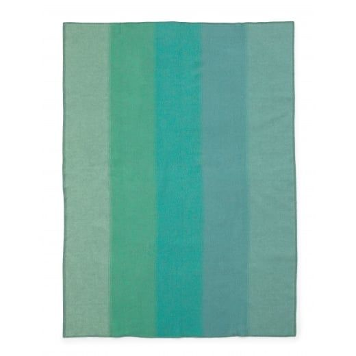 Normann Copenhagen Tint Throw Green Blanket
