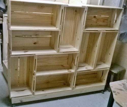 caixa de madeira de feira fazer guarda roupa - Pesquisa Google