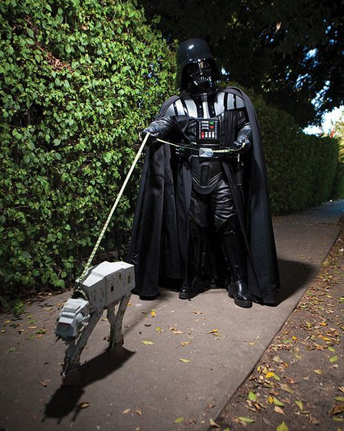 Just being casual  #darthvader #lol