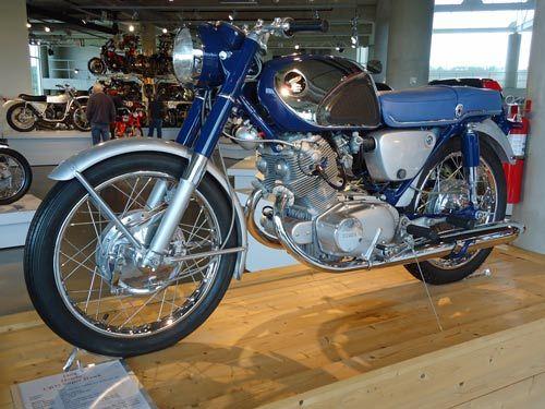 Barber Honda : honda motorfietsen 1964 honda and more honda barbers the barber ...