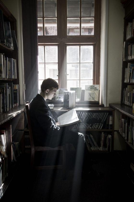 books, books, books (Graham de Lacy)