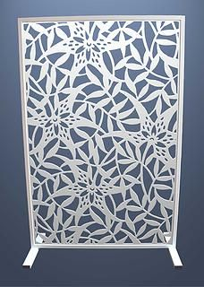 Room divider| Miles and Lincoln | Laser cut screens | Laser cut panels
