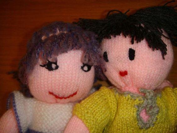 Tuto pour faire une poup e en laine pour d butante en tricot loisirs passions chez jo - Faire une boutonniere au tricot ...