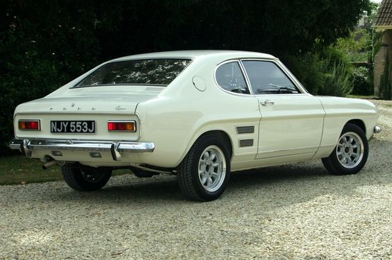 1970 Ford Capri. Nice paint scheme, and looks good on those wheels