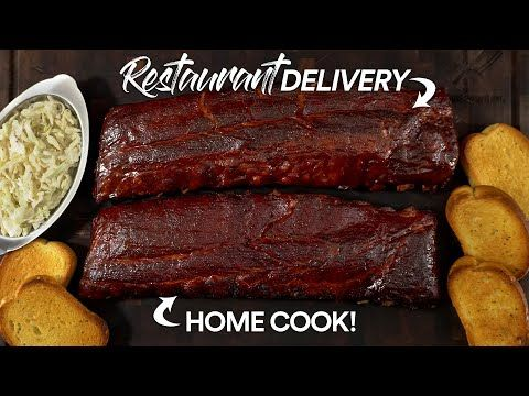 Home Cook Vs Best Bbq Delivery Baby Back Ribs Challenge Youtube Baby Back Ribs Best Bbq Cooking
