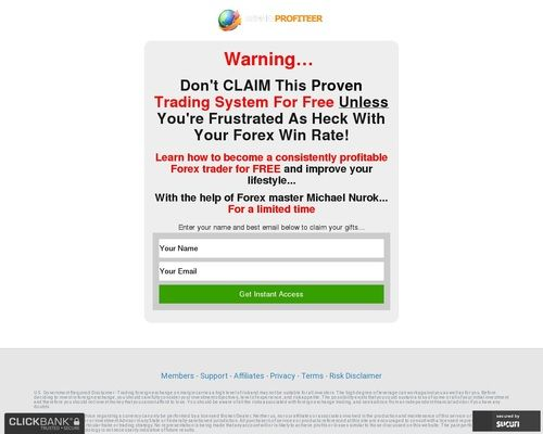 Trend Profiteer Online Security Sales And Marketing Investment