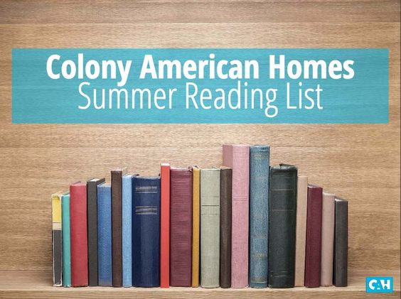Pack this reading list with you this summer!