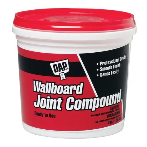 Dap 3 Lb Premixed Finishing Drywall Joint Compound At Lowe S A Ready To Use Joint Compound For Smooth High Quality Finishing O Stucco Patch Wall Board Stucco