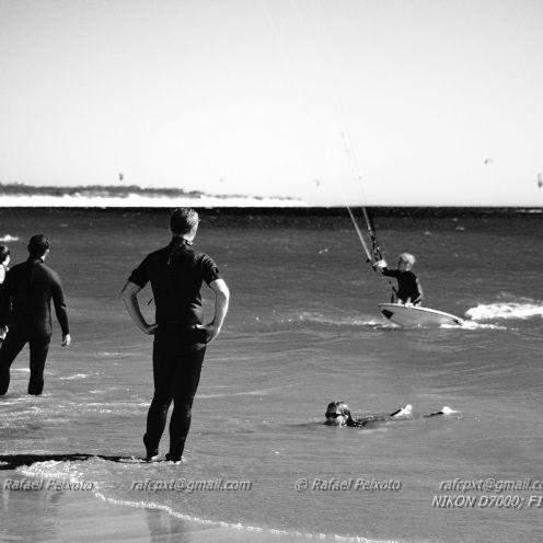 #Veraneio desportivo Praia do Cabedelo em Viana do Castelo.  Local de lazer e desporto, a Praia do Cabedelo atrai muita gente, quer para apr...