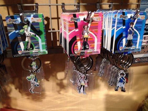 Pokemon Photos from Tokyo - N Boy Girl Pokemon Black White 2 key ring