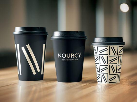 New restaurant branding with lots of sticks,... | Art & Design | Nae-Design Sydney Interactive Blog