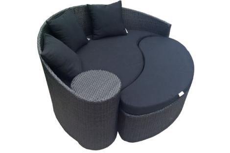 COMO OUTDOOR ROUND DAY BED OFRIDDB20