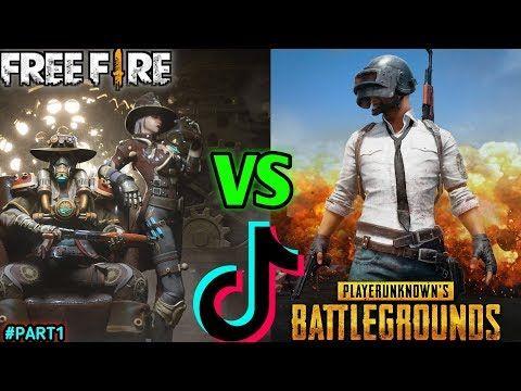 Free Fire Vs Pubg Tik Tok Videos Part1 Hindi Jorawar Gaming Youtube In 2021 Funny Songs Rider Song Funny Gif Wallpaper free fire vs pubg