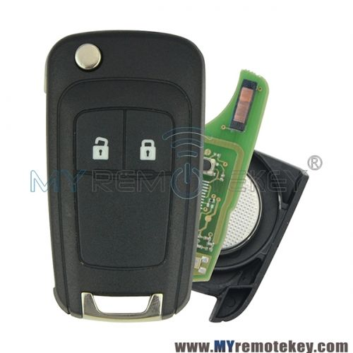 Flip Remote Key 2 Button 433mhz For Chevrolet Cruze With Id46 Chip Chevrolet Cruze Buick Buick Lacrosse
