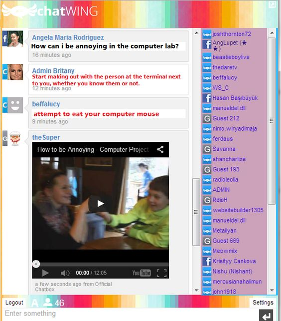 Live Web Chat Rooms      Images About Chat Rooms App For Websites