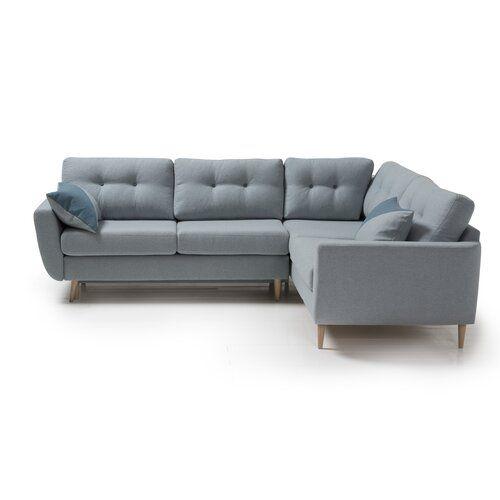 Zipcode Design Anabella Sleeper Corner Sofa Bed Wayfair Co Uk Corner Sofa Modular Corner Sofa Corner Sofa Bed