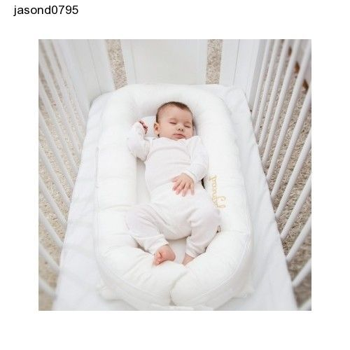 White Baby Crib Cot Bed Sleepyhead Deluxe Cover Pristine