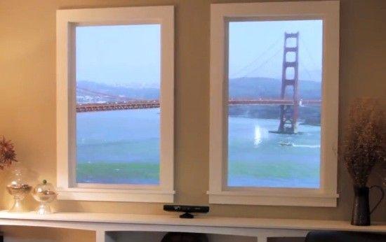 Empresa cria 'janela virtual' com ajuda do Kinect