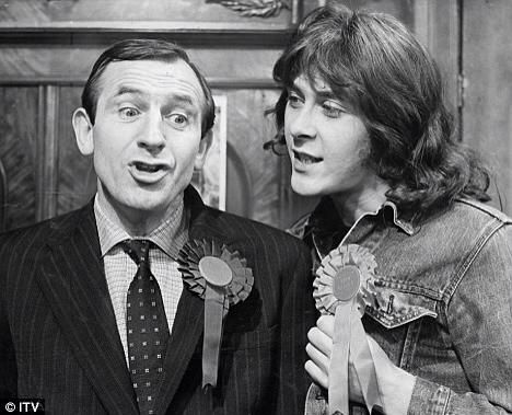 Rising damp,  a funny comedy with Leonard Rossiter & Richard Beckinsale.