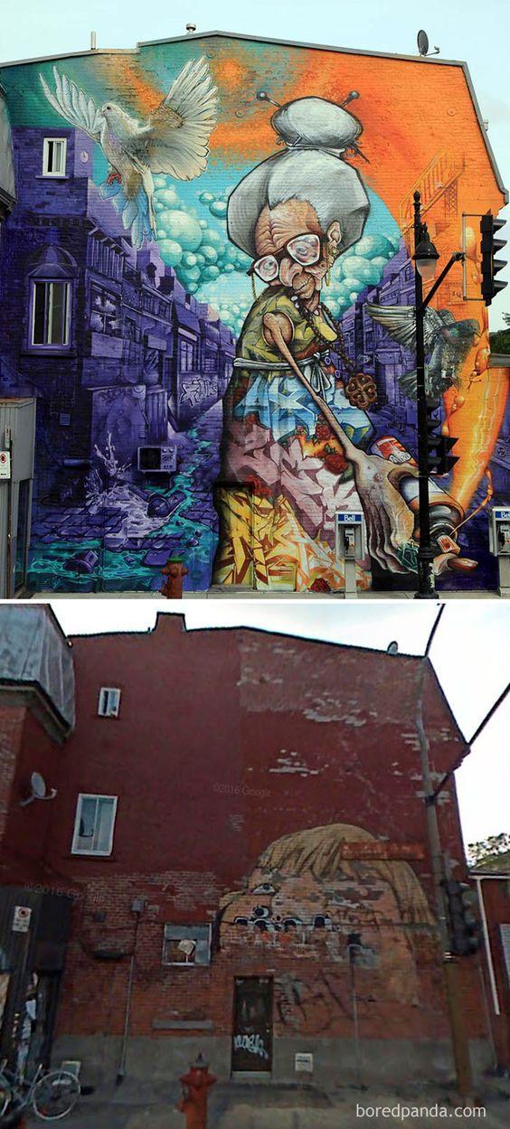 藝術家看不過去就出手把醜陋街道重生成完美街頭藝術,整個市容都升級了!(30張)