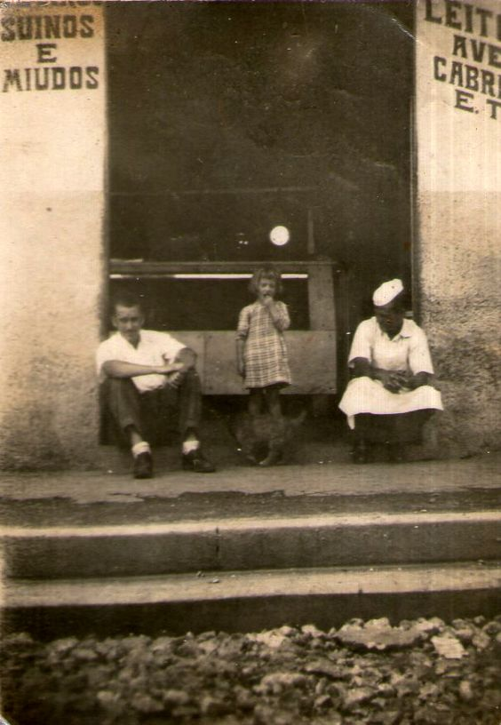 Açougue do Chiquinho (1951) Rua Picinguaba, Vila Santa Isabel Colaborou com a foto: Tia Cida