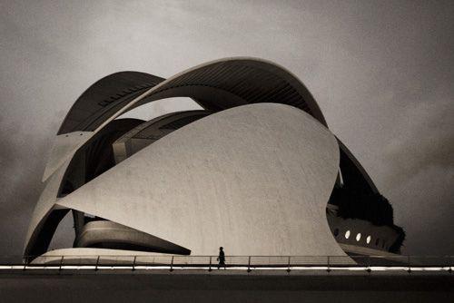 Santiago Calatrava's Tenerife Opera House in Santa Cruz, Bernie DeChant