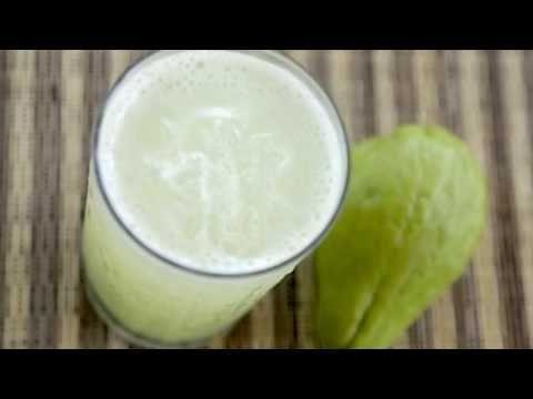 jugo de pepino y chayote para adelgazar