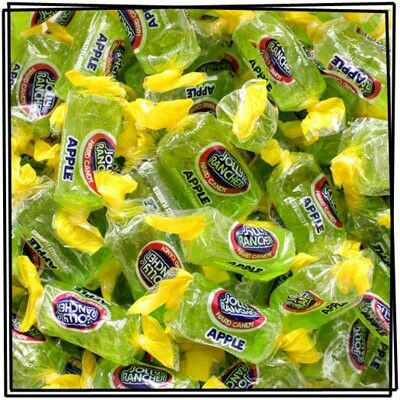 Jolly Ranchers- Green Apple Candy ... one of my favorites!!