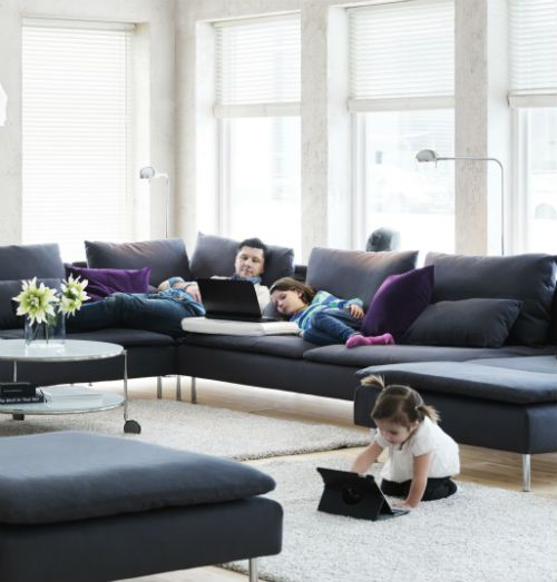 Living Room Furniture Sofas, How To Put Feet On Furniture
