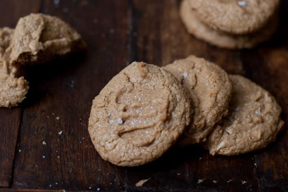 heidi swanson's whole wheat peanut butter cookies