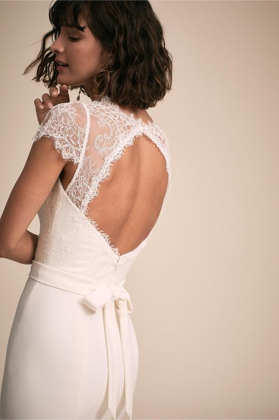 BHLDN's Amy Kuschel Smith Gown in Ivory