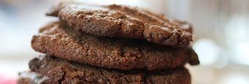 Schokoladenkekse ohne Mehl backen