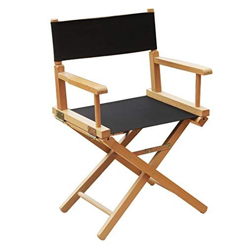 Incredible Yan Junau Canvas Folding Chair Portable Wooden Director Home Interior And Landscaping Ferensignezvosmurscom