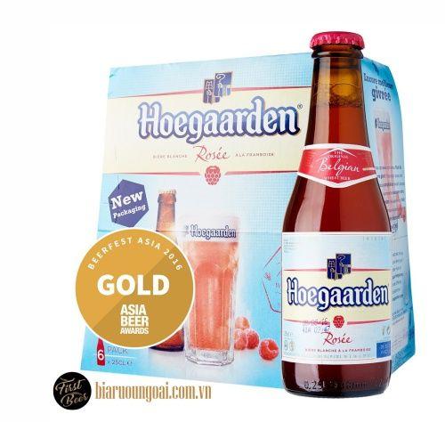 Bia Bỉ Hoegaarden Rosee